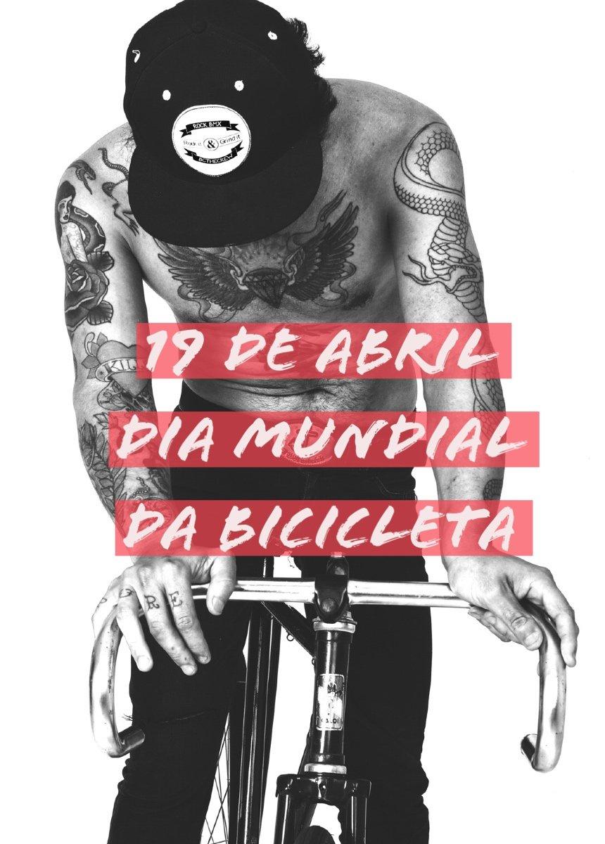 19 DE ABRIL DIA DA BICICLETA